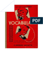 121271066 Langue Francaise Vocabulaire 04 CM2 6ieme H Le Lay Et E Leroy Hachette