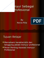 Insinyur Sebagai Profesional