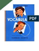 120610878 Langue Francaise Vocabulaire 03 CM1 H Le Lay Et E Leroy Hachette