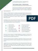 Informe de Actividad 2 Trim 2015