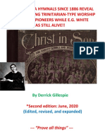 SDA Hymnals Before 1915 Reveal Pre-1915 Trinitarianism in Adventism