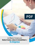 PDF Los Mejores Consejos Para Reducir Costos y Llevar La Contabilidad en Tu Empresa