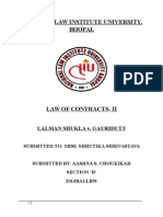 Contracts II Project