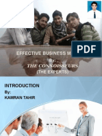 Business Meeting Presentation