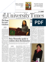 The University Times - March 2, 2010