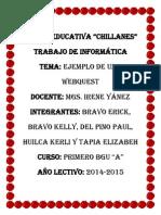Que Es Una Webquest- Unidad Educativa Chillanes