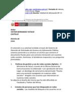 Acceso a la Informacion Publica - Redes Sociales - MINSA