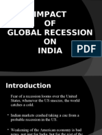 Global Recession in India