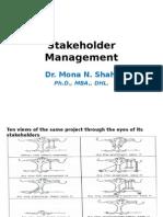 7.Stakeholder Management