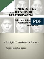 ACOLHIMENTO E OS PROCESSOS DE APRENDIZAGEM