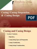 Casing, Casing Suspension &  Casing Design