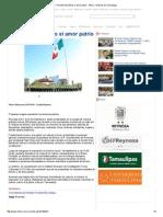 09-01-2015 Fomenta Pepe Elías El Amor Patrio