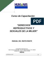 Derechos de La Mujer Manual Del Participante