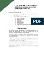 INFORME SEMANAL CUZCO N°01