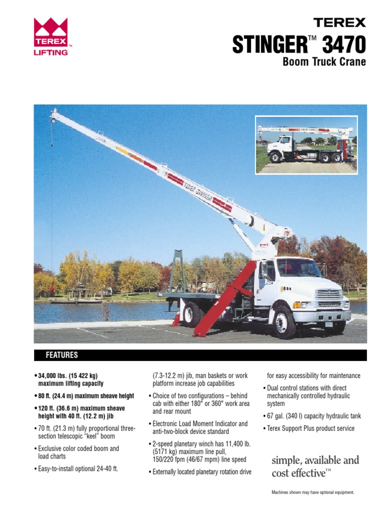3470_terex | Crane (Machine) | Vehicles