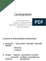 Leukopoesis.