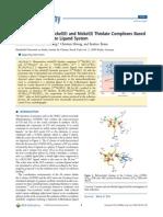Ligandos de níquel y el ligando beta-dicetiminato