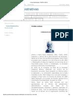Teorias Administrativas_ TEORÍA CLÁSICA