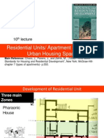 10th Lec- Residential Units