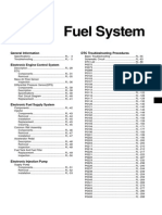Hyundai HD78 Fuel System