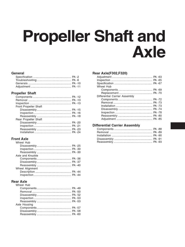 Hyundai Hd78 Propeller Shaft And Axle Nut Wheel Hub Diagram Hardware
