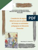 Compilación de Sugeriencias Didácticas