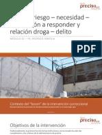 02 Modelo RNR y Necesidades Criminogenas