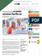 09-02-2015 Grandes Obras Para Grandes Reynosenses_ Pepe Elías Leal