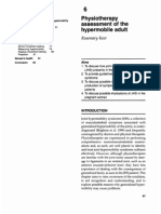 Chapter 6 – Physiotherapy Assessment of the Hypermobile Adult