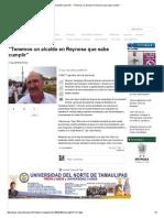 """09-01-20105 """"Tenemos Un Alcalde en Reynosa Que Sabe"""