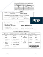Formulario Programacion C