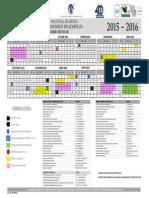 Calendario Escolar Ita 2015-2016 Version 10 de Agosto 2015
