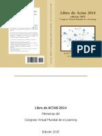 Libro de Actas 2014 Congreso Virtual Mundial eLearning