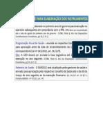 Periodicidade Para Elaboração Dos Instrumentos
