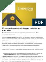 35 Contes Imprescindibles Per Treballar Les Emocions I Natibergada.cat