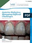 Anterior Esthetics- Managing Difficult Challenges