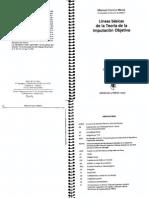 CANCIO MELIA (2004) - Líneas Básicas de La Teoría de La Imputación Objetiva