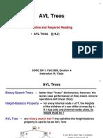 DatStr 12 AVLTrees