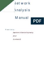 Chp 11 - Network Analysis