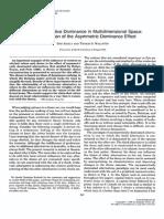 Seeking Subjective Dominance in Multidimensional Space - Dan Ariely & Tom Wallsten