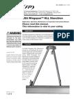 Wingspan HLL Stanchion Instruction Manual - En