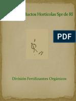  División Fertilizantes Orgánicos
