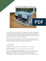 Fuente Lab 0-30A