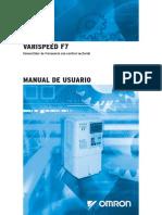 Varispeed Manual F7