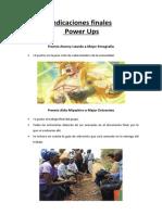 Power ups para trabajos