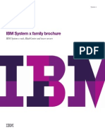 IBM System X Family Brochure