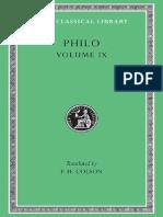 Philo Loeb Vol. 09