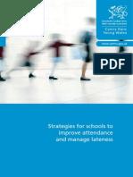 attendance strategies wales