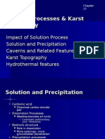 Chapter 17 - Solution Processes & Karst Topography