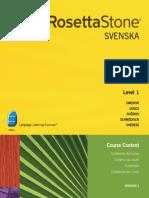 242.Rosetta Stone v3 - Course Contents - Swedish [Level 1-3]
